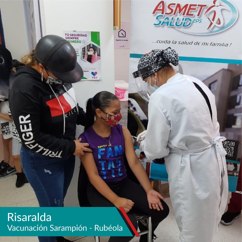 Vacunación Sarampión - Rubéola