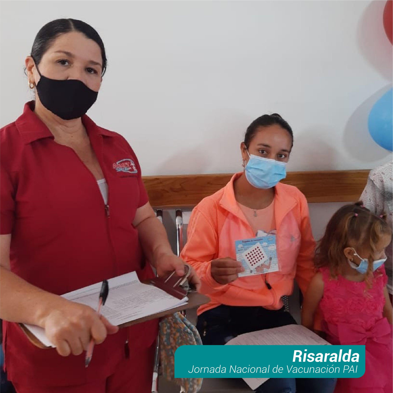 Segunda Jornada Vacunación PAI